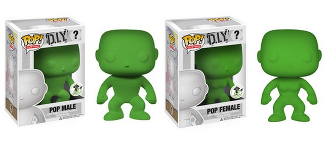 DIY POPS Funko DIY Customs at Emerald City Comicon