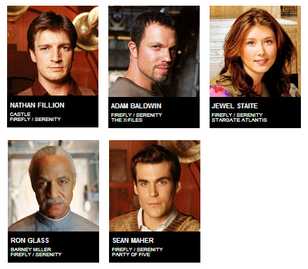 Dallas Comic Con Guests - Firefly Serenity