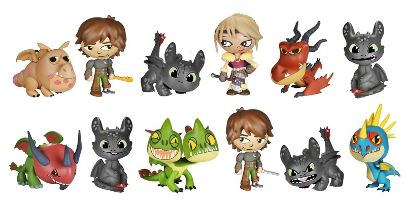 How to Train Your Dragon 2 - Mystery Minis - Individual
