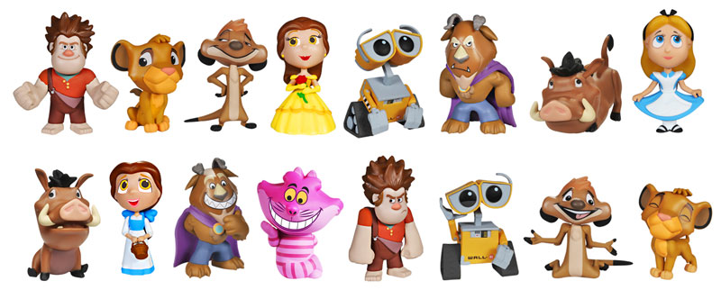 Disney - Mystery Minis - Series 2 - Figures