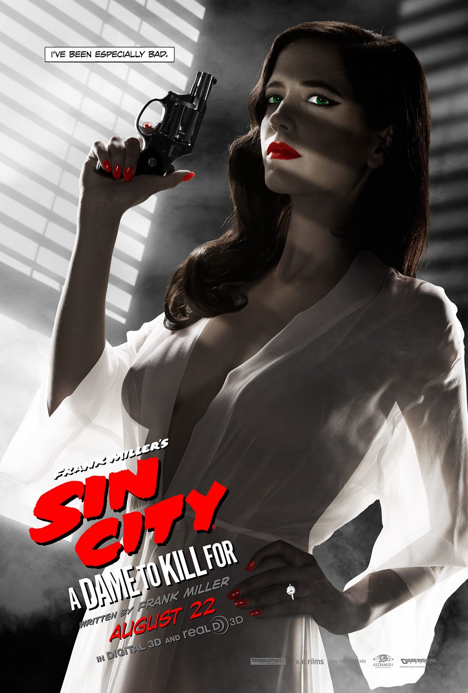 Eva Green - Sin City Poster