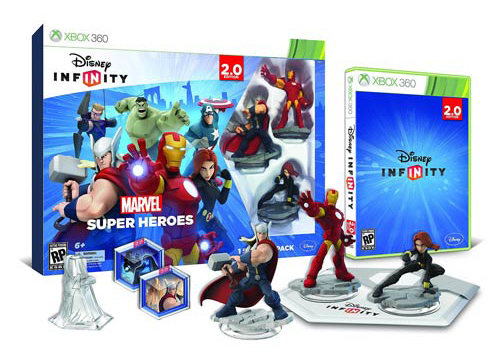 Disney - Infinity - Marvel - Starter Pack