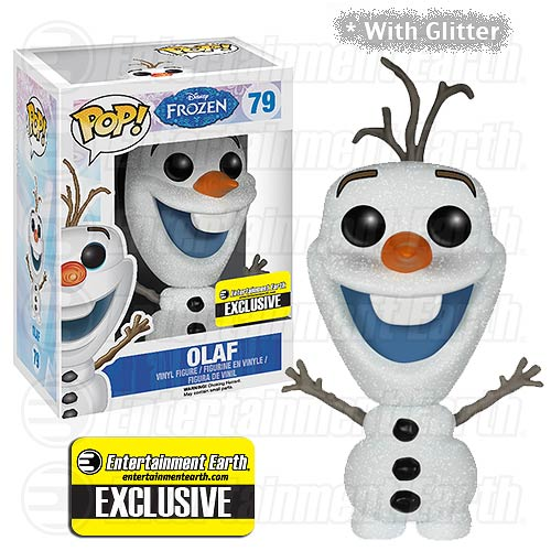 Olaf - Frozen - Glitter - Exclusive - Funko Pop - Entertainment Earth