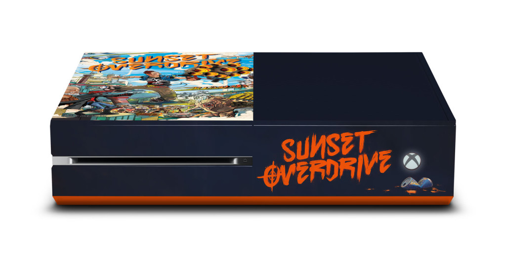 Here s the render  Xbox One White Console Sunset Overdrive