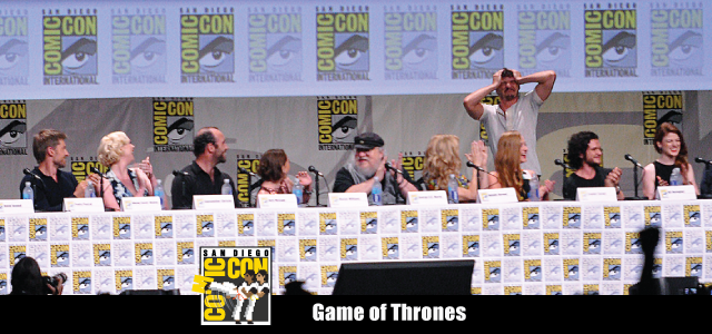 Game Of Thrones - SDCC - Cover
