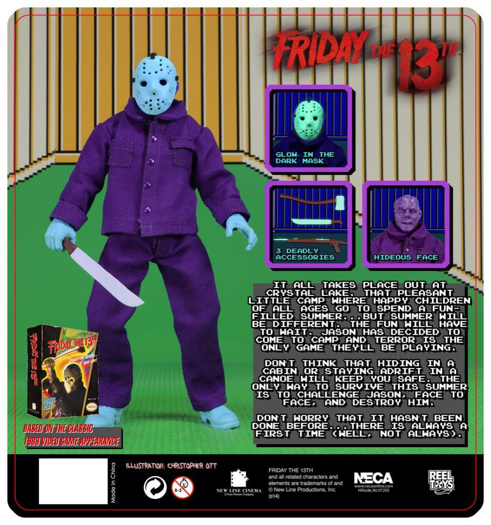 Jason Toys For Boys : Neca s jason voorhees makes killer debut in toys quot r us
