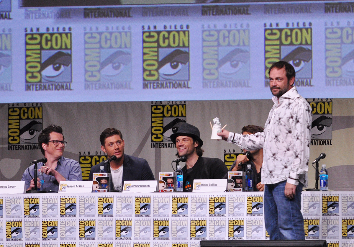 Supernatural - SDCC 2014 - 02 - Hello Boys