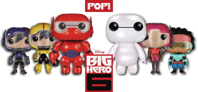 Big Hero 6 - Funko Pop!'s