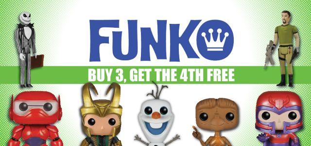 Funko - Buy 3 Get 4th Free - Twitter