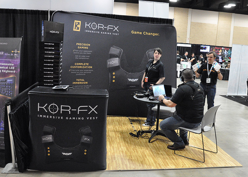 KOR FX booth