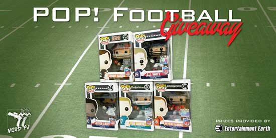Pop! Football Prize Pack Giveaway
