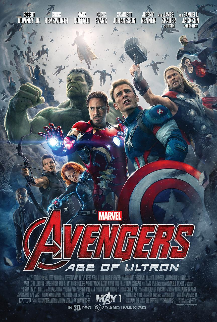 Avengers - Age of Ultron - Official Poster