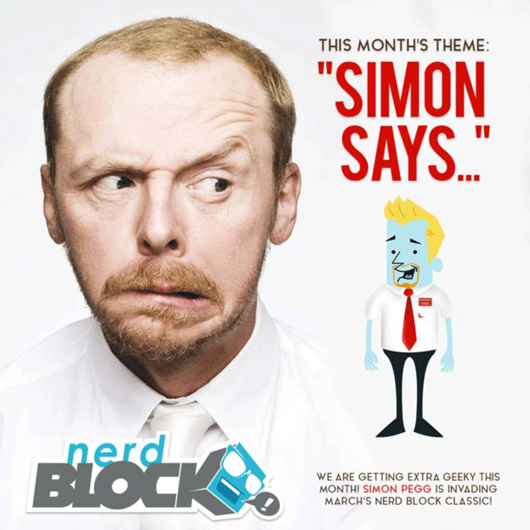 March - Nerd Block - Simon Says