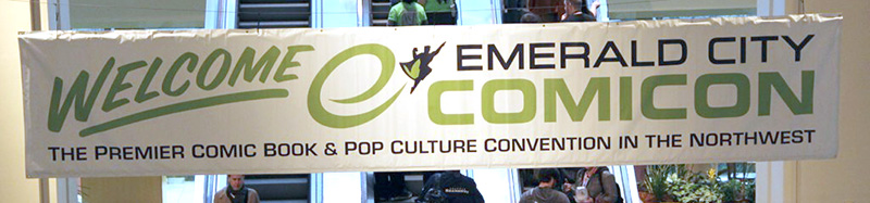 Welcome to Emerald City Comic Con