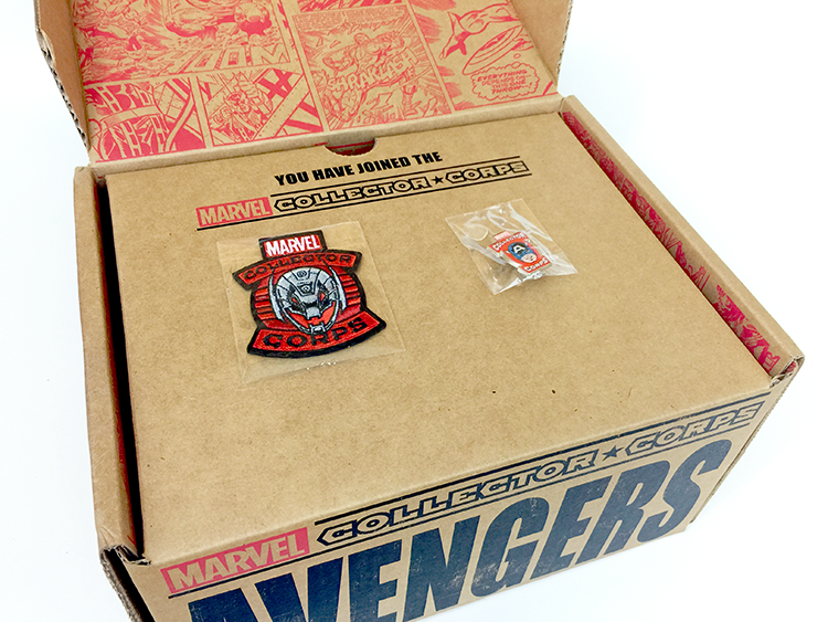 Marvel Collector Corps - Inside Box - Top