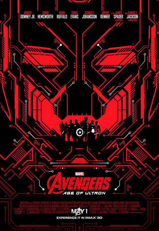 IMAX exclusive poster - Ultron Unleashed