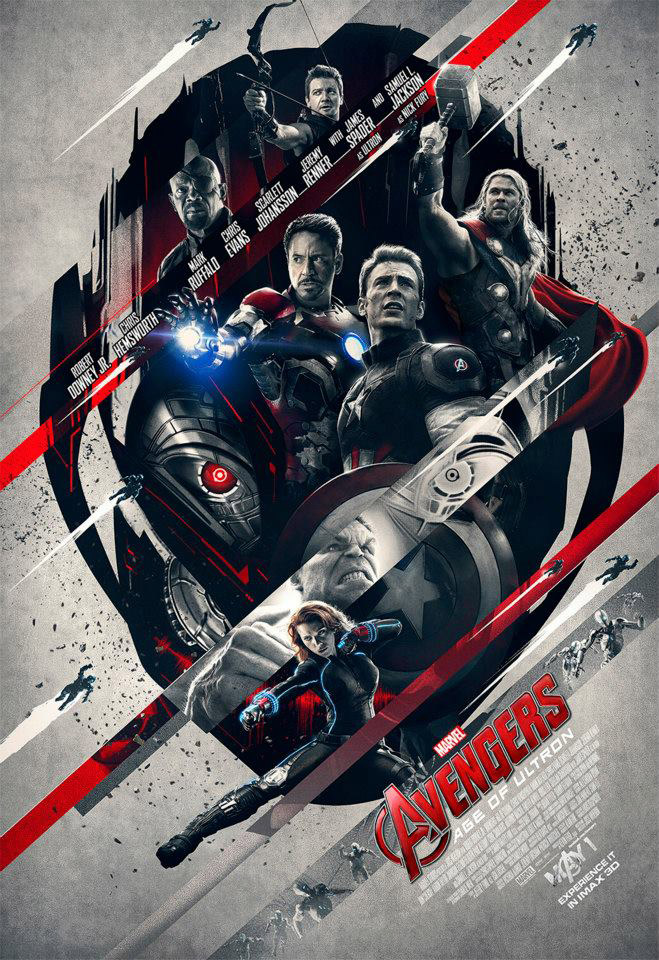 IMAX exclusive poster - Avengers Unite