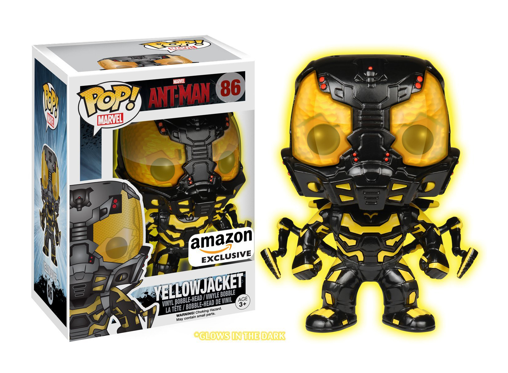 Ant-Man - Yellow Jacket - Amazon Exclusive - Funko Pop
