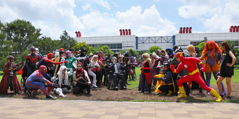 Cosplay - Comicpalooza - 2015 - Marvel vs DC
