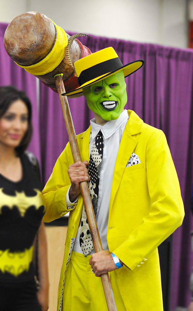 Cosplay - Comicpalooza - 2015 - The Mask