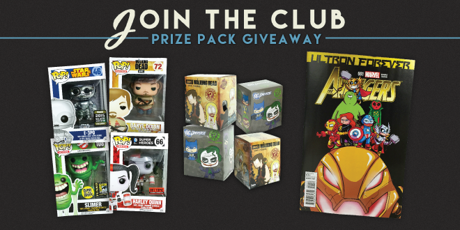 Join the Club Prize Pack Giveaway