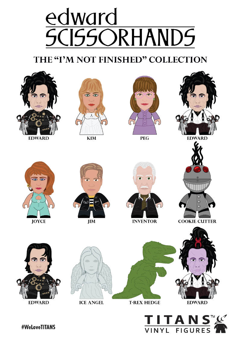 Edward Scissorhands - TITAN Figures