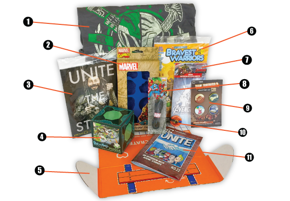 Loot Crate - May - numbers