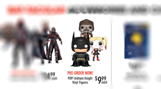 Batman - Arkham Knight - Flyer - Game Stop