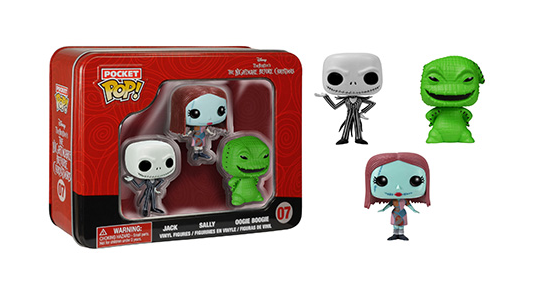 Nightmare Before Christmas - Pocket Pops - tin