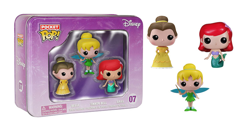 Pocket Pop - Tin - Disney - Princesses