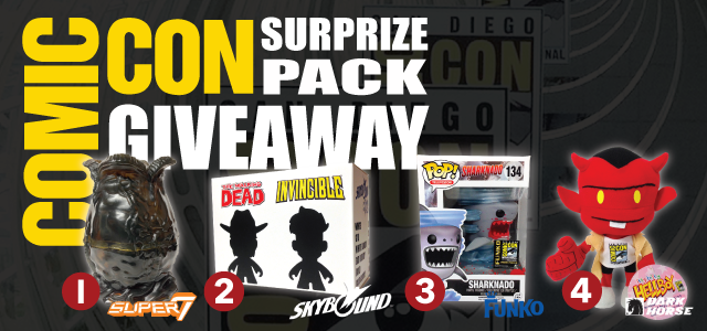 2014 Comic Con Surprize Pack Giveaway from Nerd Fu