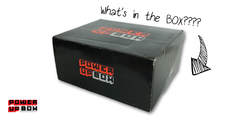 Power Up Box - May Unboxing via Nerd Fu