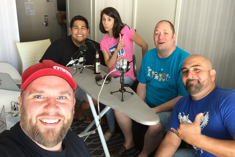 Pre-SDCC Podcast - Group - Photo