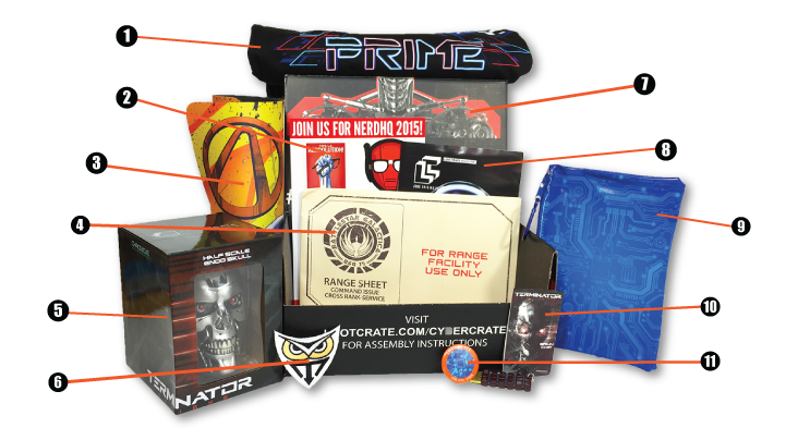Loot Crate - June - With Numbers
