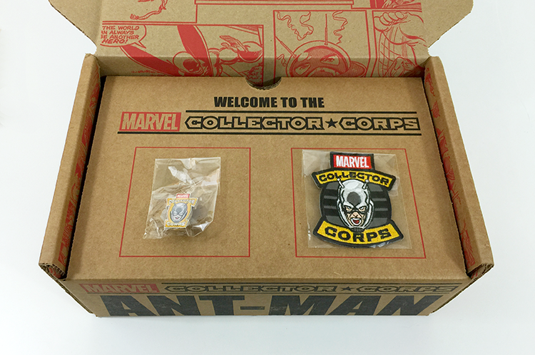 MCC - Ant-Man - Box - Pin and Patch