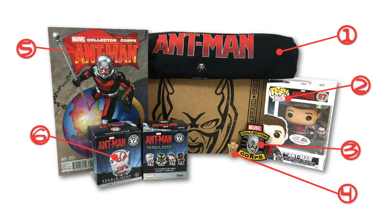 MCC - Ant-Man - Contents - Numbers