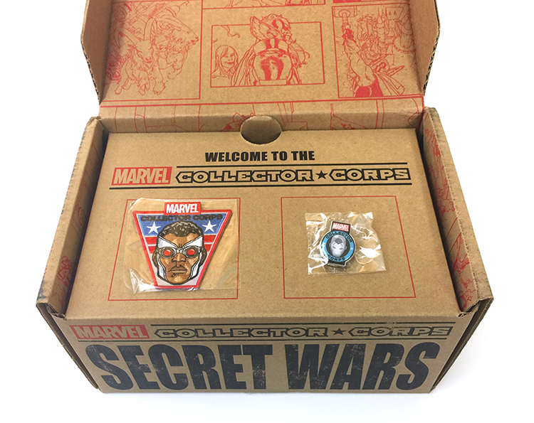 MCC - Secret Wars - Pin and Patch