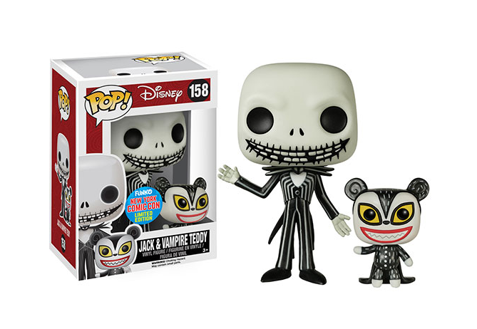 Nightmare Before Christmas - Jack and Vampire Teddy - Funko Pop - NYCC ...