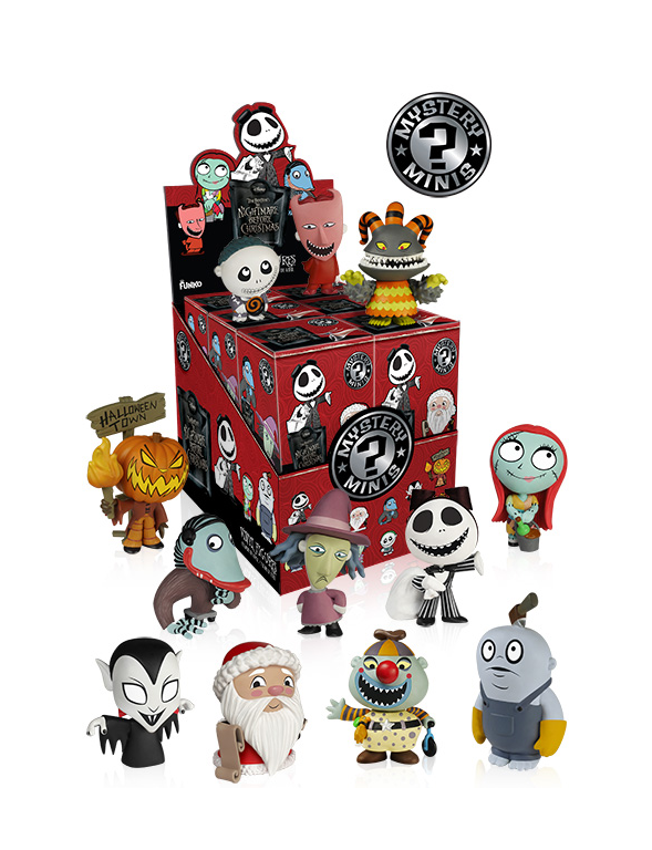 Nightmare Before Christmas - Mystery Minis - Series 2 - Box