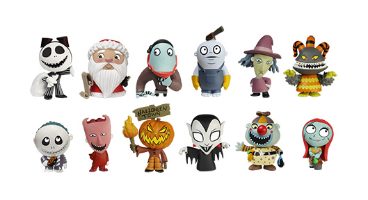 Nightmare Before Christmas - Mystery Minis - Series 2 - Figures