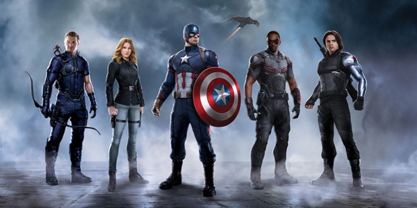Captain America: Civil War - Captain America's team