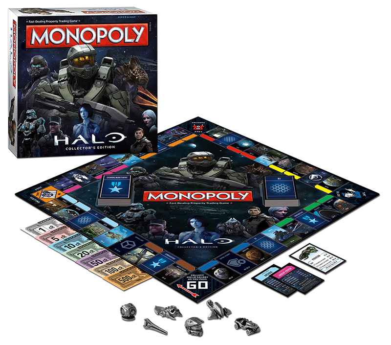 Halo Monopoly Collector's Edition - Full Display