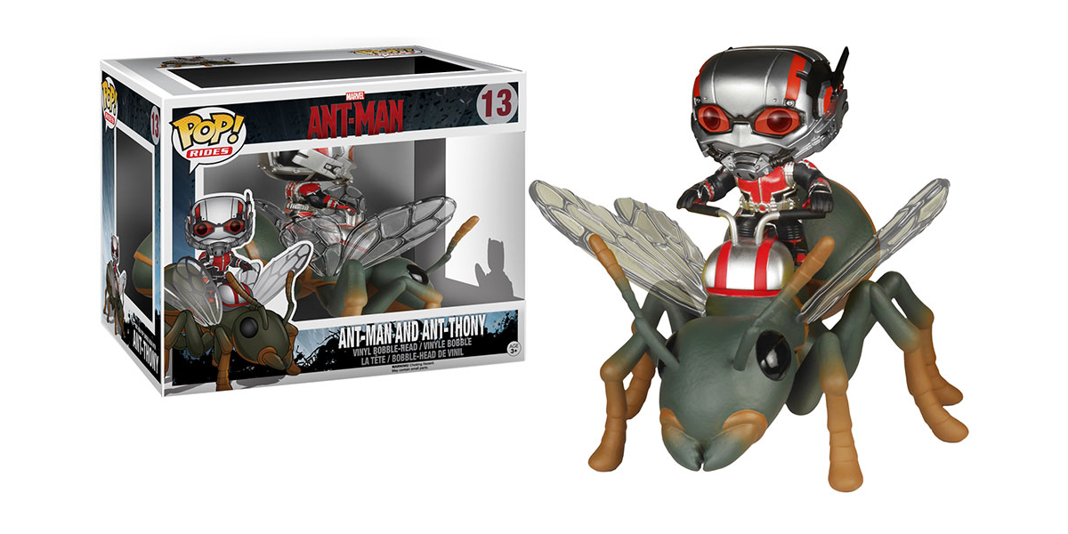Ant-Man and Ant-Thony Pop! Ride