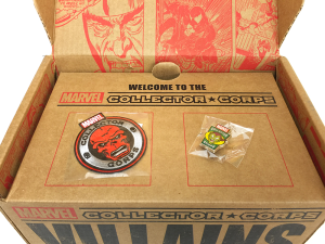 Marvel Collector Corps - Villains - Inside the Box