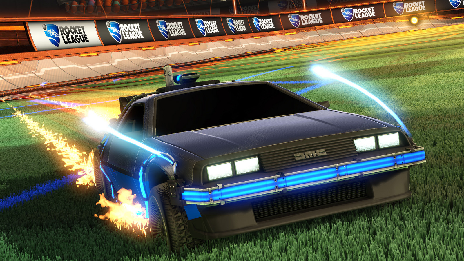 RocketLeague-DeLorean