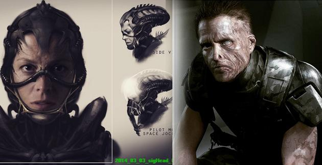 Neill Blomkamp - Concept art for Alien movie