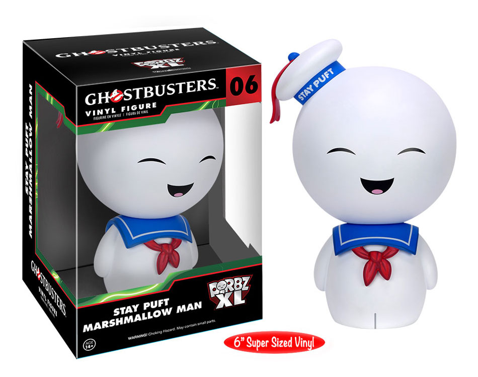Ghostbusters - Dorbz XL - Stay Puft Marshmallow Man