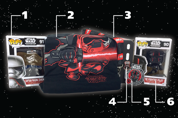 Star Wars - Smuggler's Bounty - Funko - NOV - 2015 - Contents - Numbered