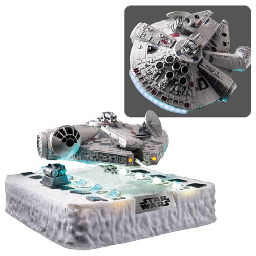 Floating Millennium Falcon by Beast Kingdom