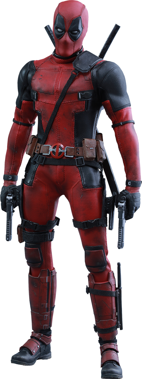 Deadpool - Hot Toys - Full Figure